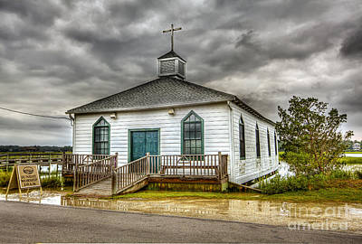 Photograph - Pawleys Church by Mark East
