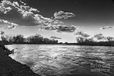 Payette In The Spring Art Print by Robert Bales