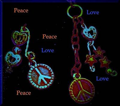 Photograph - Peace And Love by Marian Hebert