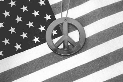 Photograph - Peace And Patriotism by John Noel