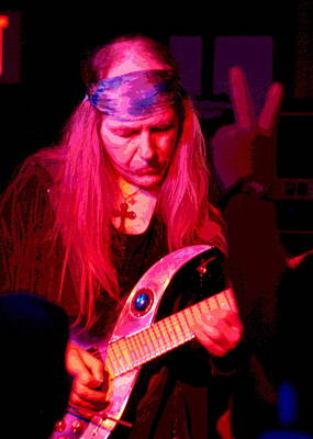 Photograph - Peace And Uli Roth by Ben Upham