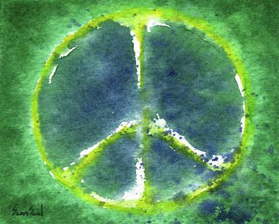 Peace Day 2011 Art Print by Sean Seal
