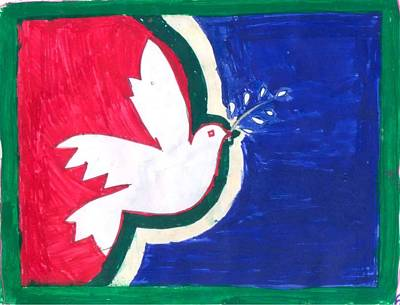 Mixed Media - Peace In The Master Piece by Poornima M