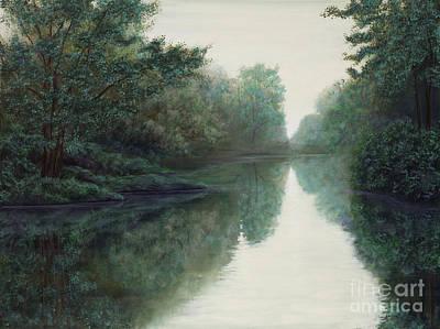 Peace Just Like A River Art Print