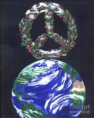 Painting - Peace On Earth by Gail Finn