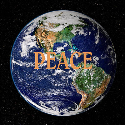 Peace On Earth Photograph - Peace On Earth by Kristin Elmquist