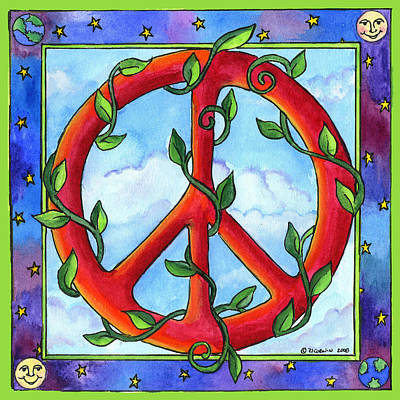 Painting - Peace by Pamela  Corwin