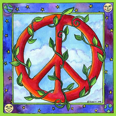 Corwin Painting - Peace by Pamela  Corwin