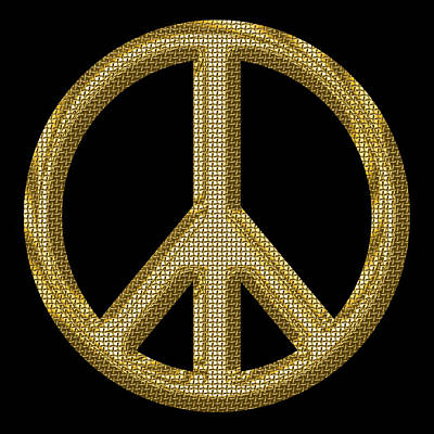 World Peace Photograph - Peace Sign 1 by Andrew Fare