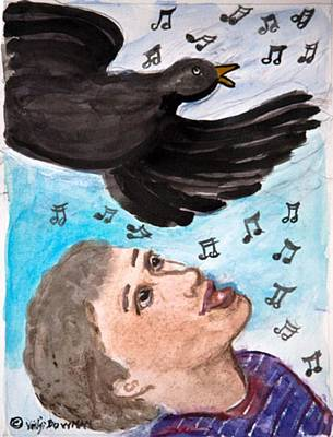Peace Song Of All Creatures Original by ClareMaria Vrindaji Bowman