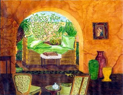 Peaceful Afternoon Art Print by Cheryl Carrabba