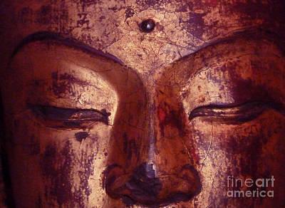 Photograph - Peaceful Buddha by Angela Wright