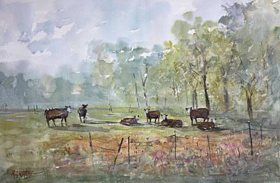 Painting - Peaceful Pasture by Ryan Radke