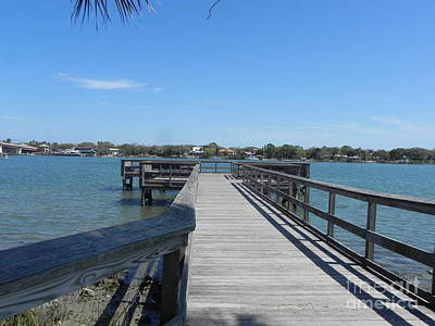 Sandy Owens Photograph - Peaceful Pier by Sandy Owens