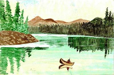Painting - Peaceful Reflections by Jessi and James Gault