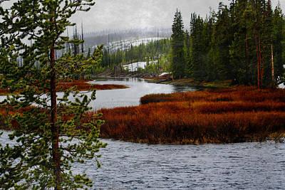 Photograph - Peaceful River by Ellen Heaverlo