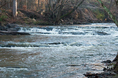 Peaceful River Print by Michael Waters