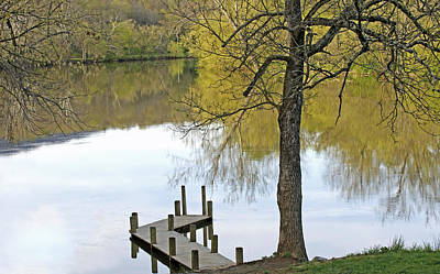 Photograph - Peaceful Shenandoah Spring by Lara Ellis