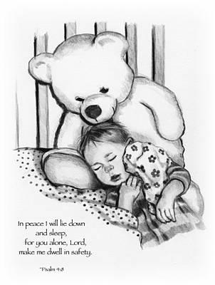 Peaceful Sleep Print by Joyce Geleynse