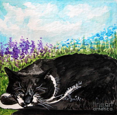 Painting - Peaceful Slumber by Elizabeth Robinette Tyndall