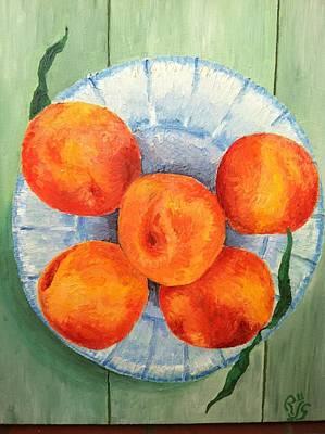 Robert Schmidt Painting - Peachy by Robert Schmidt