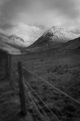 Photograph - Peak In Glencoe by Macrae Images