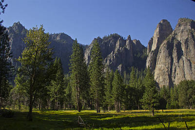 Photograph - Peaks Before El Capitan by Jeremy McKay