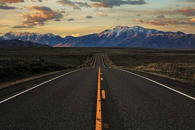 Photograph - Peaks To Craters Highway by Benjamin Yeager