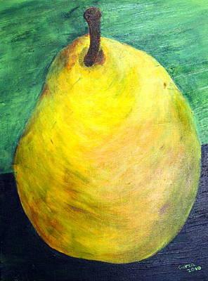 Pear Art Print