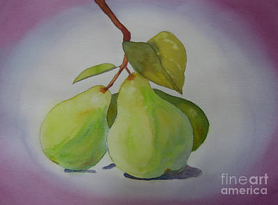 Painting - Pear Glow by Vicki Brevell