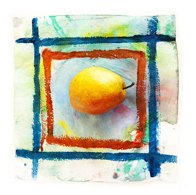 Pear  Art Print by Igor Kislev