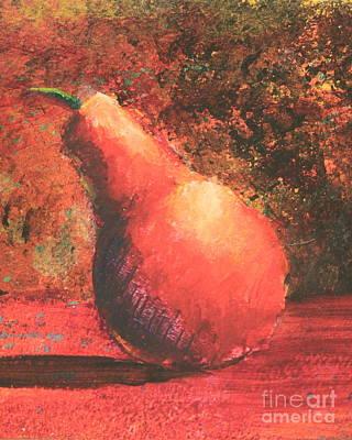 Pear Right Print by Ann Sokolovich