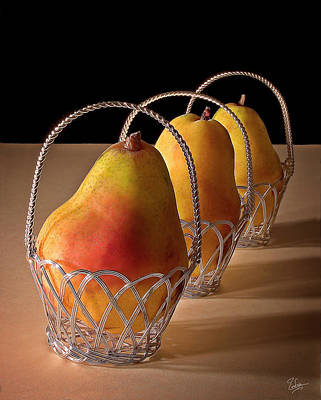 Photograph - Pear Still Life by Endre Balogh