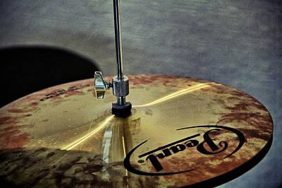 Drummer Photograph - Pearl Hi Hat by Odd Jeppesen