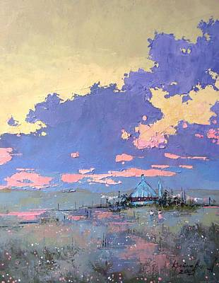 Morning After Painting - Pearl Morning by Anastasija Kraineva