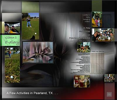 Digital Art - Pearland Tx Activities P56 by Glenn Bautista