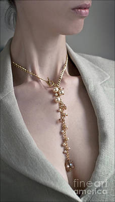 Photograph - Pearls And Crystals by Eena Bo