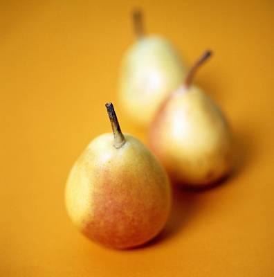 Pyrus Communis Photograph - Pears by Cristina Pedrazzini
