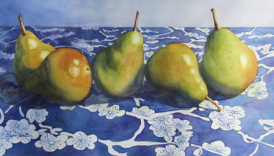 Painting - Pears by Daydre Hamilton