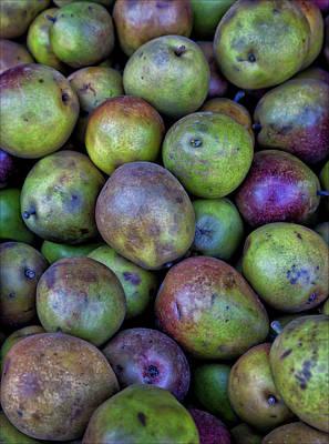 Pears Art Print by Robert Ullmann