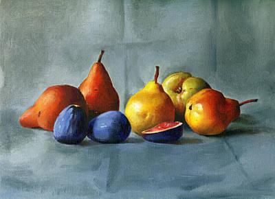 Pears Art Print by Tatyana Holodnova