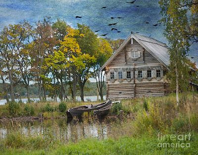 Photograph - Peasant House. Kizhi Island. Russia. by Juli Scalzi