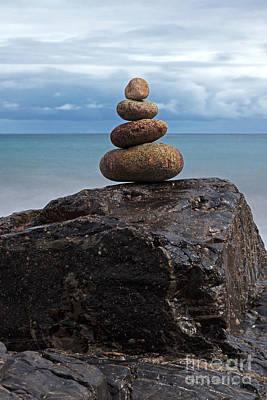 Pebble Sculpture Art Print by Richard Thomas