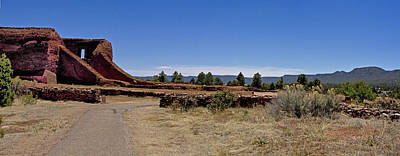 Photograph - Pecos Pueblo Panorama by Bill Barber
