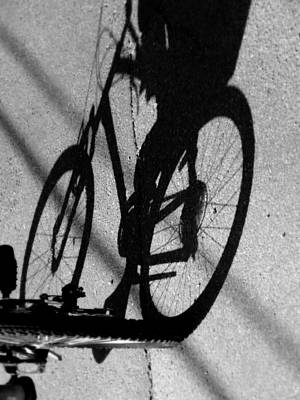 Ghost Riders Photograph - Pedal Pusher by Karen Wiles