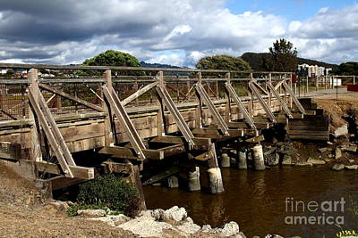 Pedestrian Bridge At Point Isabel In Richmond California . 7d15083 Art Print by Wingsdomain Art and Photography