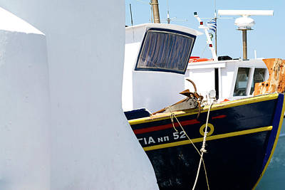 Photograph - Peek-a-boat by Lorraine Devon Wilke