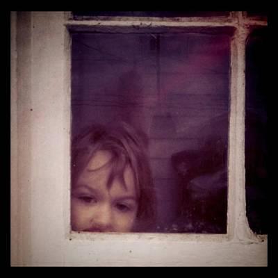 Girl Photograph - Peek A Boo by Ken Powers