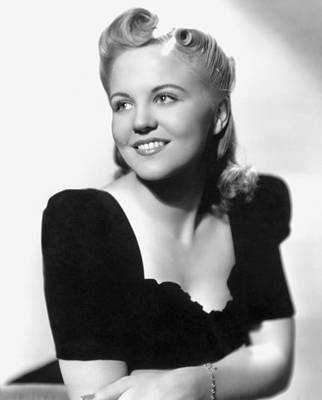Photograph - Peggy Lee (1920-2002) by Granger