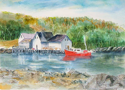 Painting - Peggy's Cove II by Heidi Patricio-Nadon